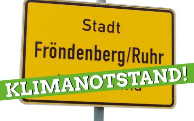 Rat erklärt den Klimanotstand für Fröndenberg