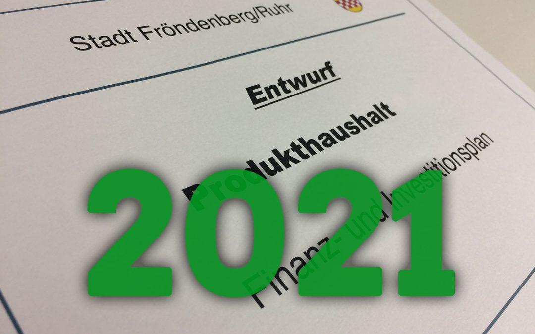 Anträge zum Haushalt 2021
