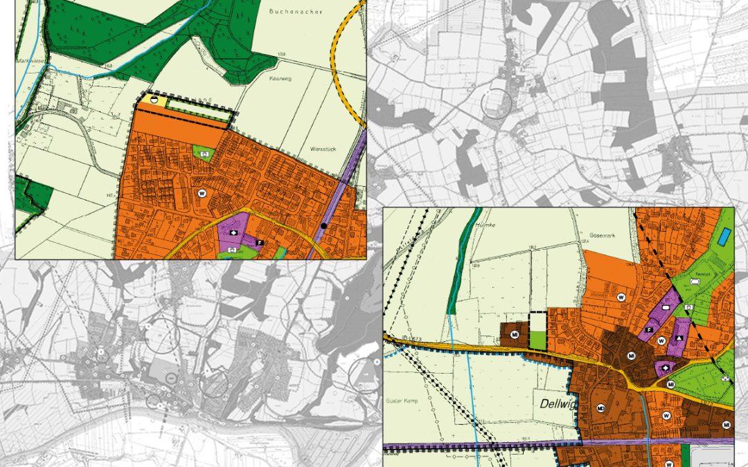 """Baugebiet """"Auf dem Buhrlande"""" – Änderung Flächennutzungsplan"""