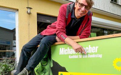 Michael Sacher zieht in den 20. deutschen Bundestag